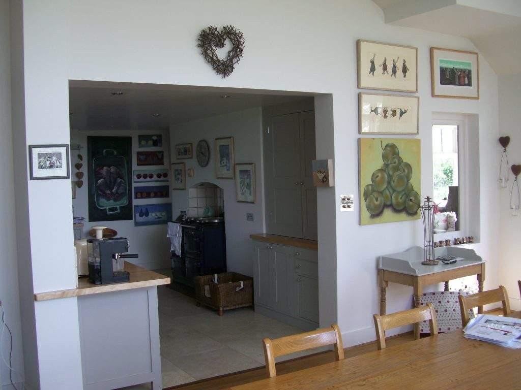 kitchen unit painting