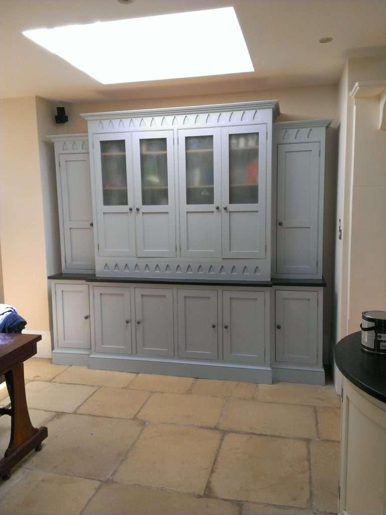 kitchen unit painted
